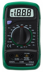 commercial electric mas830b multimeter factur rh wiki factur org Commercial Electric Mas830b Owner's Manual Commercial Electric Mas830b User Manual